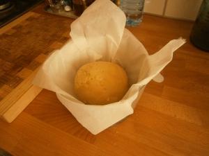 la pâte avant levée