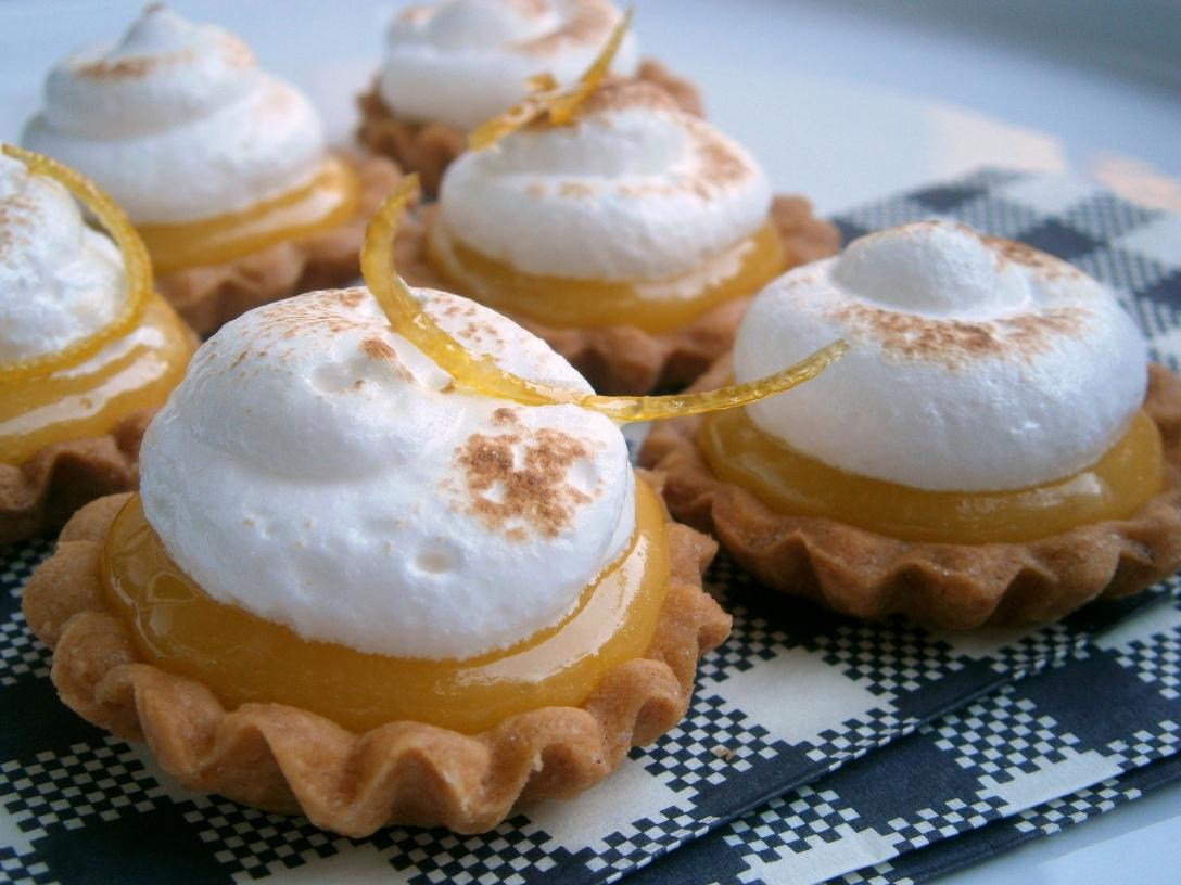 tarte au citron meringuée lemon curd