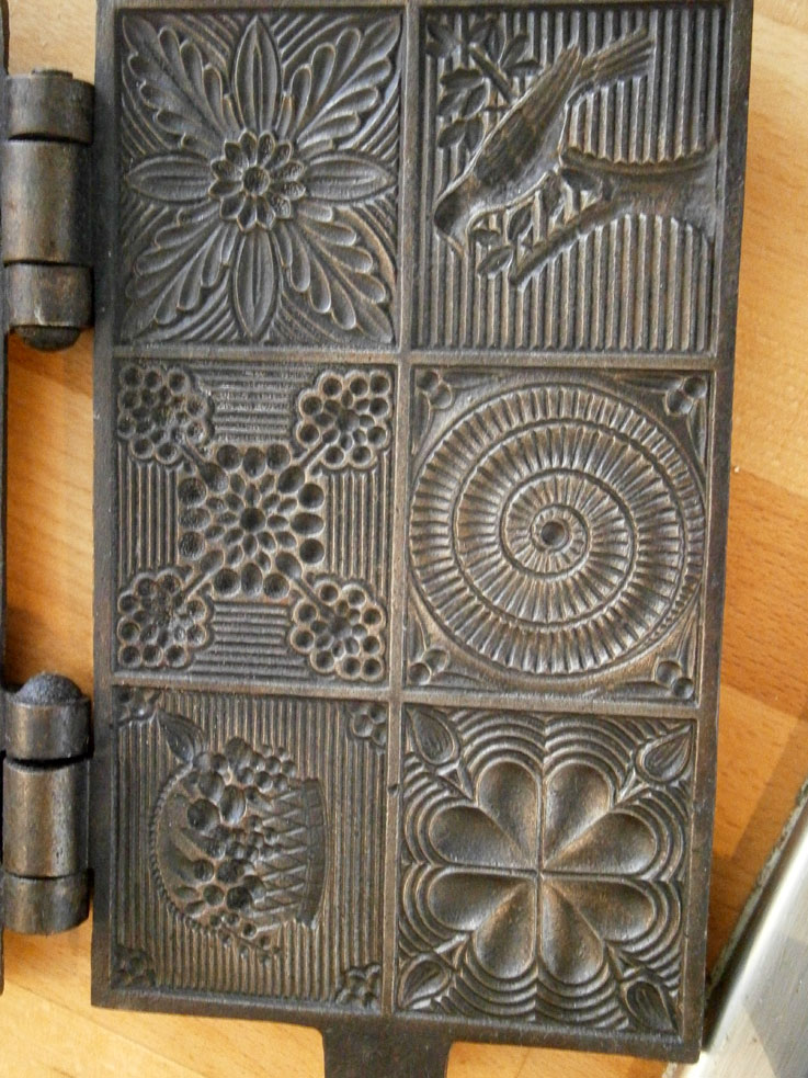 gros-plan-gaufrier-motif-plaques