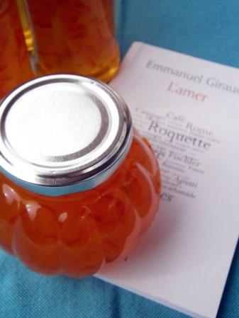 recette confiture marmelade orange amèr