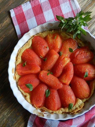 recette facile tarte à la tomate