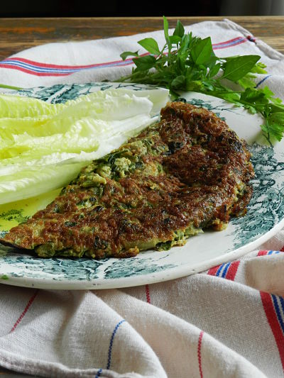 recette provencale facile omelette herbes