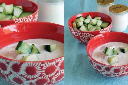 recette facile yaourt concombre