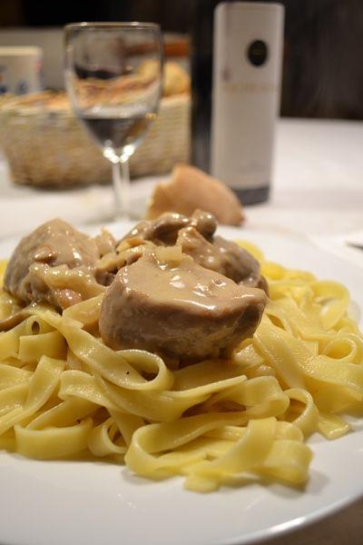 recette facile filet mignon de porc champigons de paris