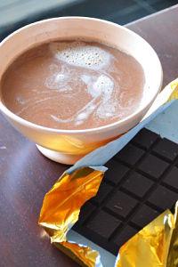 recette facile rapide chocolat chaud ancienne maison bol