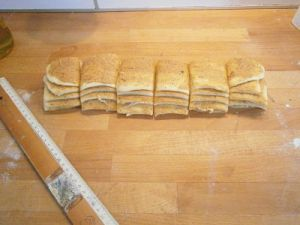 recette facile brioche cannelle vergeoise pull apart bread