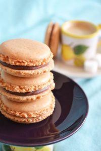 recette-facile-rapide-macaron-ganache-chocolat-chantilly-creme-fleurette