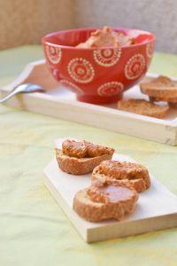 recette facile rapide poivron tartine tartiner tartinade tapenade dip muhamarra melasse grenade noix
