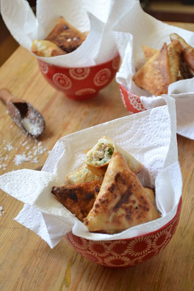 samossas de lapin ou comment cuisiner les restes avec gourmandise !