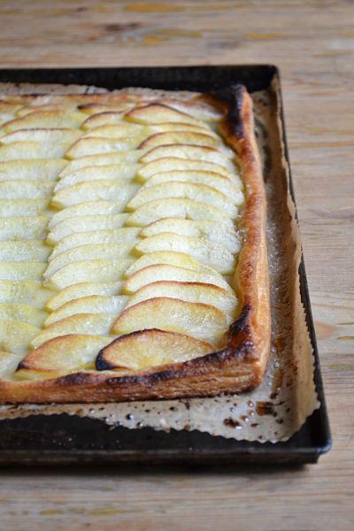tarte fine aux pommes pâte feuilletée maison facile rapide