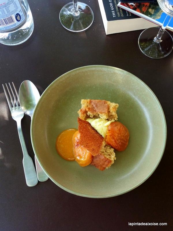 abricot moelleux faux baba creme vanille relais saint ser puyloubier