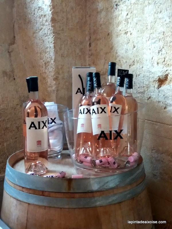Vin rosé aix en provence cave du cours mirabeau