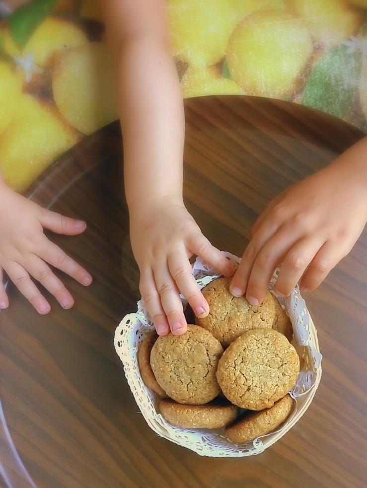 recette facile rapide cookies son avoine raisins secs melasse noire