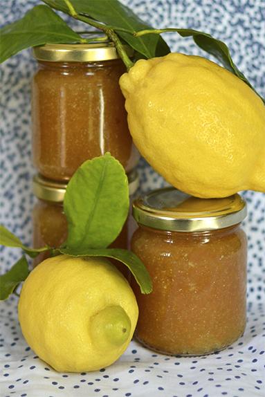 pots de marmelade de citrons italien Amalfi IGP